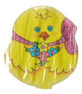 Chirpy Yellow Chick Easter Shaped Airfill Balloon
