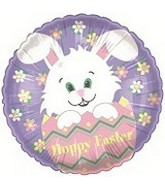 "18"" Easter Bunny Egg Balloon"