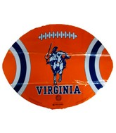"18"" Collegiate Football Virginia Cavaliers Balloon"