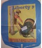 "21"" Liberty Raffle Turkey"