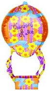 "25"" Thinking Of You Hot Air Balloon"