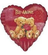 "32"" Be Mine Bears Box10"