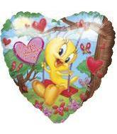 "18"" Panoramic Tweety Garden Valentine"