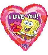 "18"" SpongBob I Love You"