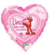 "18"" Elmo Loves You Very Much"