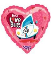 "18&#39&#39 Herbie ""I&#39m A Love Bug"" Hearts"