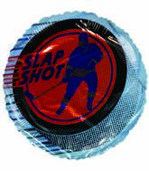 "18"" Hockey Slap Shot Skater Blue Border"
