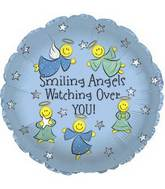 "17"" Smiling Angels Foil Balloon"