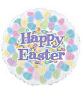 "18"" Happy Easter Multi Eggs"
