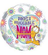"18"" Most Huggable Mom Garfield Balloon"