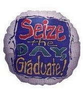 "4"" Airfill Balloon SEIZE THE DAY"