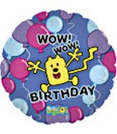 "18"" Wubbzy Birthday"
