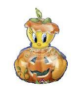 "38"" Tweety in Pumpkin Balloon"