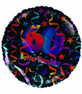 "18"" Better than Ever 60th Birthday Stars & Streamers"