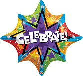 "36"" Celebrate! Jumbo Mylar Balloon"