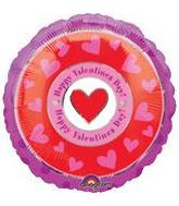 "18"" Happy Valentines Day Circles"