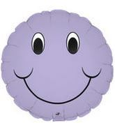 "9"" Airfill Smiley Face Lavender"