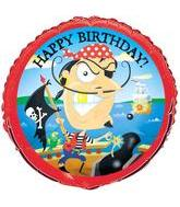 "18"" Gold-Tooth Pirate Birthday"