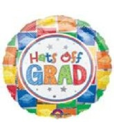 "32"" SuperShape Hats Off Grad"