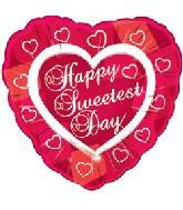 "18"" Sweetest Day Heart Border"