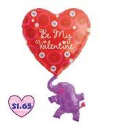 "37"" Be My Valentine Elephant"