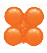 "30"" Magic Arch Large Balloon Metallic Orange"