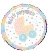 18&#39&#39 Baby Shower Carriage Balloon