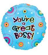 "18"" You're A Great Boss Dots"