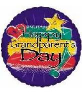 "18"" Happy Grandparents Day Painted"