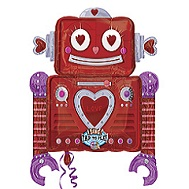 28'' Singing Love Machine Robot Balloon