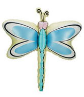 "Jumbo 35"" Dragonfly One Pack Balloon"