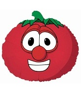 "12"" Airfill Only Bob the Tomato Veggietales Balloon"