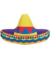 "34"" Sombrero Super Shape Mylar Balloon"