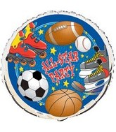 18&#39&#39 All Star Party Balloon