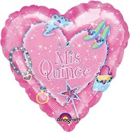 "32"" Sparkle Princess Mis Quince Balloon"