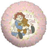 "18"" It&#39s A Girl Raggedy Ann"