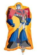 "14"" Airfill Only Optimus Transformers Balloon"