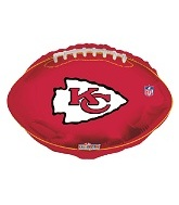 "18"" NFL Football Kansas City Chiefs Balloon"