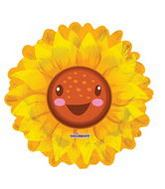 "28"" Bright Sunflower Balloon Shape"