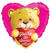 "9"" Airfill Only You&#39re So Special Bear Balloon"