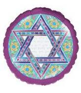 "18"" Star of David No Written Message"