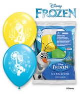 "12"" 6 Count Special Assorted Frozen Olaf"
