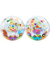 "22"" Single Bubble Packaged Circus Parade"