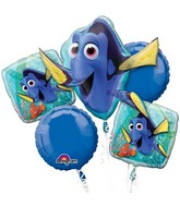 Finding Dory Bouquet of Balloons