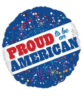 "18"" Proud to Be American Balloon"