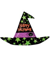"37"" Halloween Witch Hat Balloon"