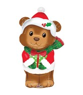 "29"" Christmas Bear Balloon"