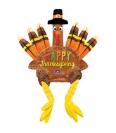 "20"" Sitting Turkey Balloon"