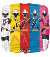 "18"" Power Rangers-Ninja Steel Balloon"