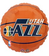 "18"" Utah Jazz Balloon"